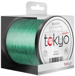 Delphin Vlasec Tokyo zelený - 0,286mm 6300m