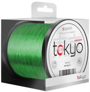 Delphin Vlasec Tokyo fluo zelený - 0,369mm 22lbs 600m