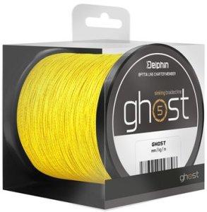 Delphin Šňůra Ghost 4+1 žlutá - 0,23mm 30lbs 300m