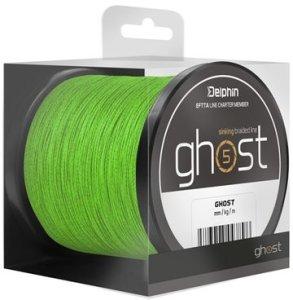 Delphin Šňůra Ghost 4+1 zelená - 0,18mm 20lbs 600m