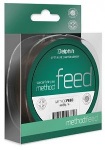 Delphin Vlasec Method Feed Hnědý - 0,28mm 14,3lbs 200m