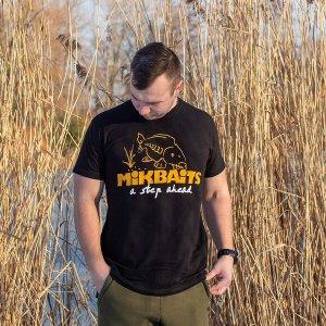 Mikbaits Tričko černé - XL