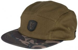 Fox Kšiltovka Khaki/Camo Volley Cap