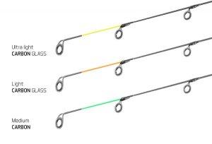Delphin Feederové špičky pro Legia Feeder II - Špička CARBON GLASS - Light / 1ks