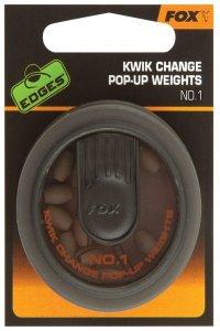 Fox Rychlovýměnné závažíčka Kwik Change Pop-up Weights - č.1