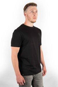 Fox Triko Black T-Shirt - XXXL