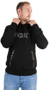 Fox Mikina Black/Camo Hoody - L