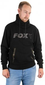Fox Mikina Black/Camo High Neck - S