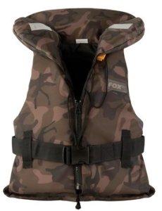 Fox Dětská plovací vesta Kids Camo Life Jacket 20-30kg