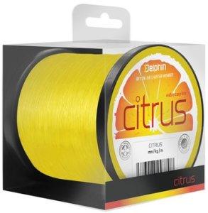 Delphin Vlasec Citrus žlutý - 0,30mm 15lbs 600m