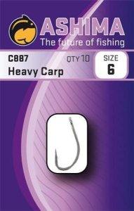 Ashima Háčky C887 Heavy Carp 10ks - vel. 4