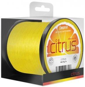 Delphin Vlasec Citrus žlutý - 0,25mm 11lbs 34800m