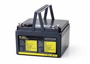Mivardi Lithiová baterie M-CELL 12V 23Ah + 5A nabíječka
