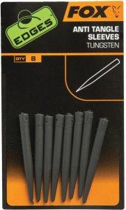 Fox Převleky proti zamotání Edges Tungsten Anti Tangle Sleeves Standard 8ks