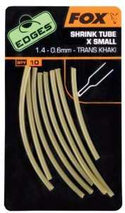 Fox Smršťovací hadičky Edges Shrink Tube 10ks - XS 1,4 - 0,6mm