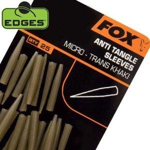Fox Krátké převleky proti zamotání Edges Anti Tangle Sleeves Micro 25ks