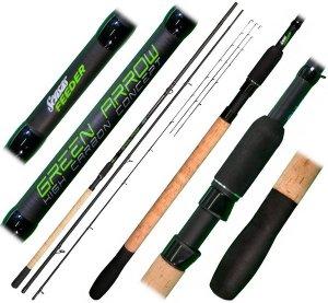 Sensas Prut Green Arrow Feeder 3,6m Heavy 90-140g