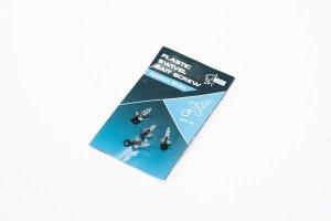 Nash Plastový držák nástrahy s mikroobratlíkem Plastic Swivel Bait Screw 10ks - 21mm