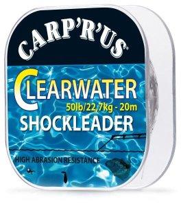 Carp ´R´ Us Clearwater Shockleader 20 m crystal Nosnost 50 lb
