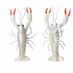 Savage Gear Gumová nástraha 3D Crayfish 8 cm 4 g Ghost 4ks