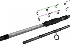 Delphin Prut Long Shot feeder 3,6 m 3,5 lbs + 4 špičky