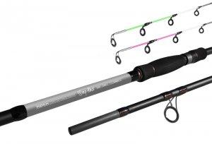 Delphin Prut Long Shot feeder 3,9 m 3,5 lbs + 4 špičky