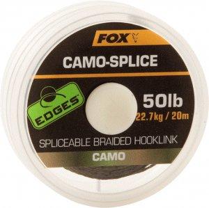 Fox Návazcová Šňůra Camo Splice 50 lb 20 m