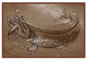 Delphin Rohožka Retro Štika
