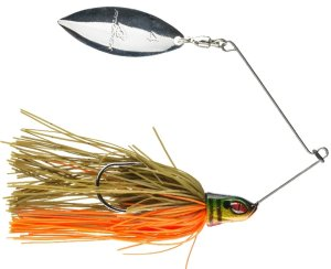 Daiwa Třpytka Prorex Willow Spinnerbait Gold Perch 7 g
