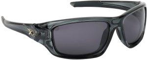 Matrix Brýle Polarizační Glasses Wraps Trans Black Grey Lense