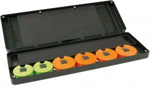 Fox Pouzdro Na Návazce Large Disc Rig Box Sys Inc Pins Disc