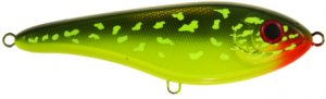 Strike Pro Wobler Tiny Buster Hot Pike 6,8 cm