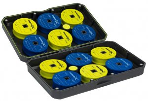 Matrix Pouzdro Na 12 Cívek S Návazci Small EVA Storage Case