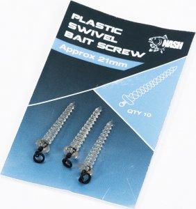 Nash Držák Nástrahy Plastic Swivel Bait Screw 21 mm