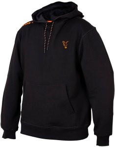 Fox Mikina Collection Orange Black Hoodie-Velikost XXXL