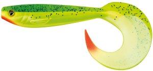 Fox Rage Gumová Nástraha New Pro Grub Colours UV Lemon Tiger-23 cm