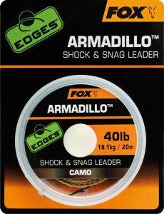 Fox Návazcová Šňůrka Armadillo Camo 20 m-Průměr 30 lb / Nosnost 13,6 kg