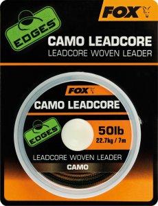 Fox Leadcore Camo 50 lb 22,7 kg-Návin 7 m