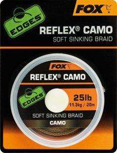 Fox Návazcová Šňůrka Reflex Camo 20 m-Průměr 25 lb / Nosnost 11,3 kg