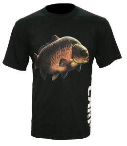 Zfish Tričko Carp T-Shirt Black-Velikost XL
