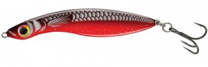 Salmo Wobler Wave Sinking Black Red Fish-Délka 7 cm 14 g