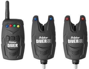 Delphin Sada Signalizátorů Diver 9V-2+1