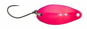 Gunki Třpytka Plandavka Slide Pink Green-2,5 cm 3,5 g