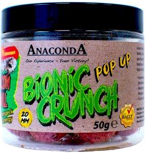 Anaconda Pop Up Boilie Bionic Crunch 20 mm 50 g-přírodní banán se scopexem