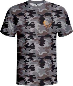 Savage Gear Triko Simply Savage Camo T-shirt-Velikost S
