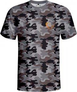 Savage Gear Triko Simply Savage Camo T-shirt-Velikost L