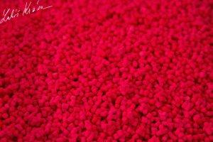 LK Baits Pelety Fluoro Wild Strawberry-1 kg 2 mm