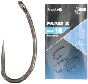 Nash Háčky Pinpoint Fang X Bez Protihrotu-Velikost 10