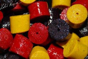 LK Baits Pelety Fruitberry Ovocné-1 kg 4 mm