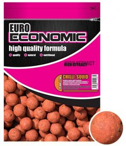 LK Baits Boilie Euro Economic Chilli Squid-1 kg 24 mm